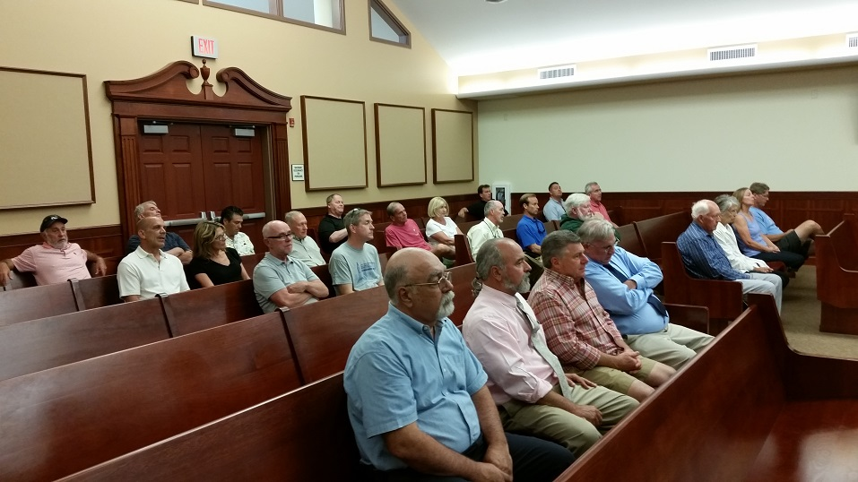 Members of the public were divided about Sea Isle City's proposed FARs during Monday night's Planning Board meeting.