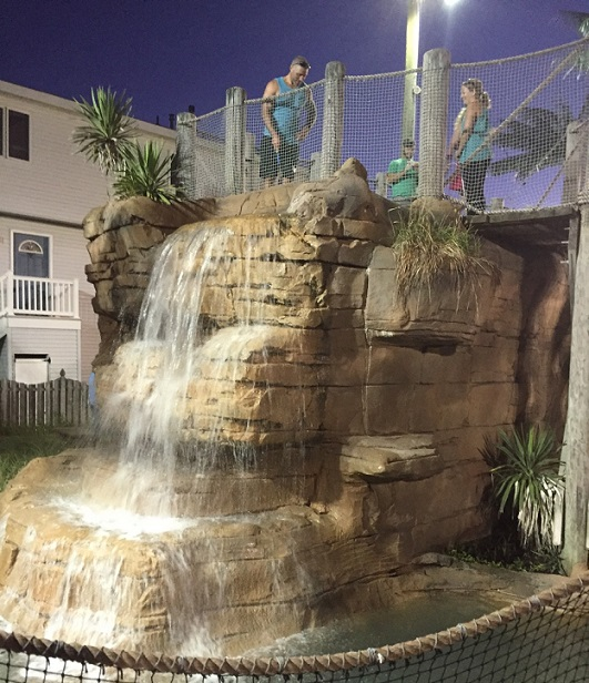 Pirate Island - Waterfalls and Palm Trees.4