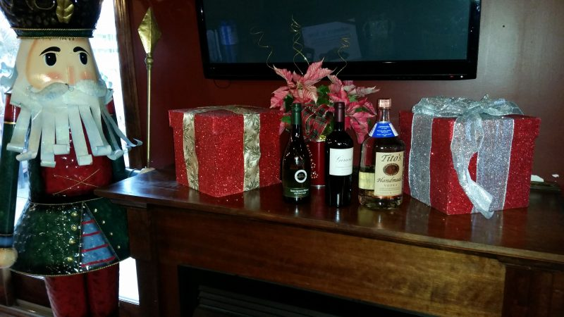From left, Kim Crawford Sauvignon Blanc, Girard Cabernet Sauvignon and Tito's Vodka are among the favorites.