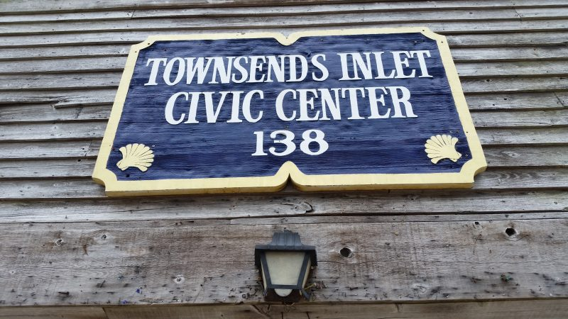 The Townsends Inlet Civic Center is located at 138 85th Street, about a block from the beach.