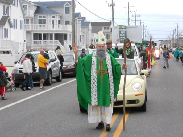 St. Patrick leads the way!