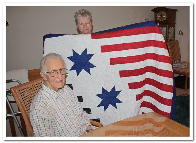 World War Ii Veteran Received Quilt Of Valor In Sea Isle City