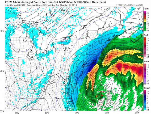 Blizzard Warning Issued As Storm Heads For Sea Isle City
