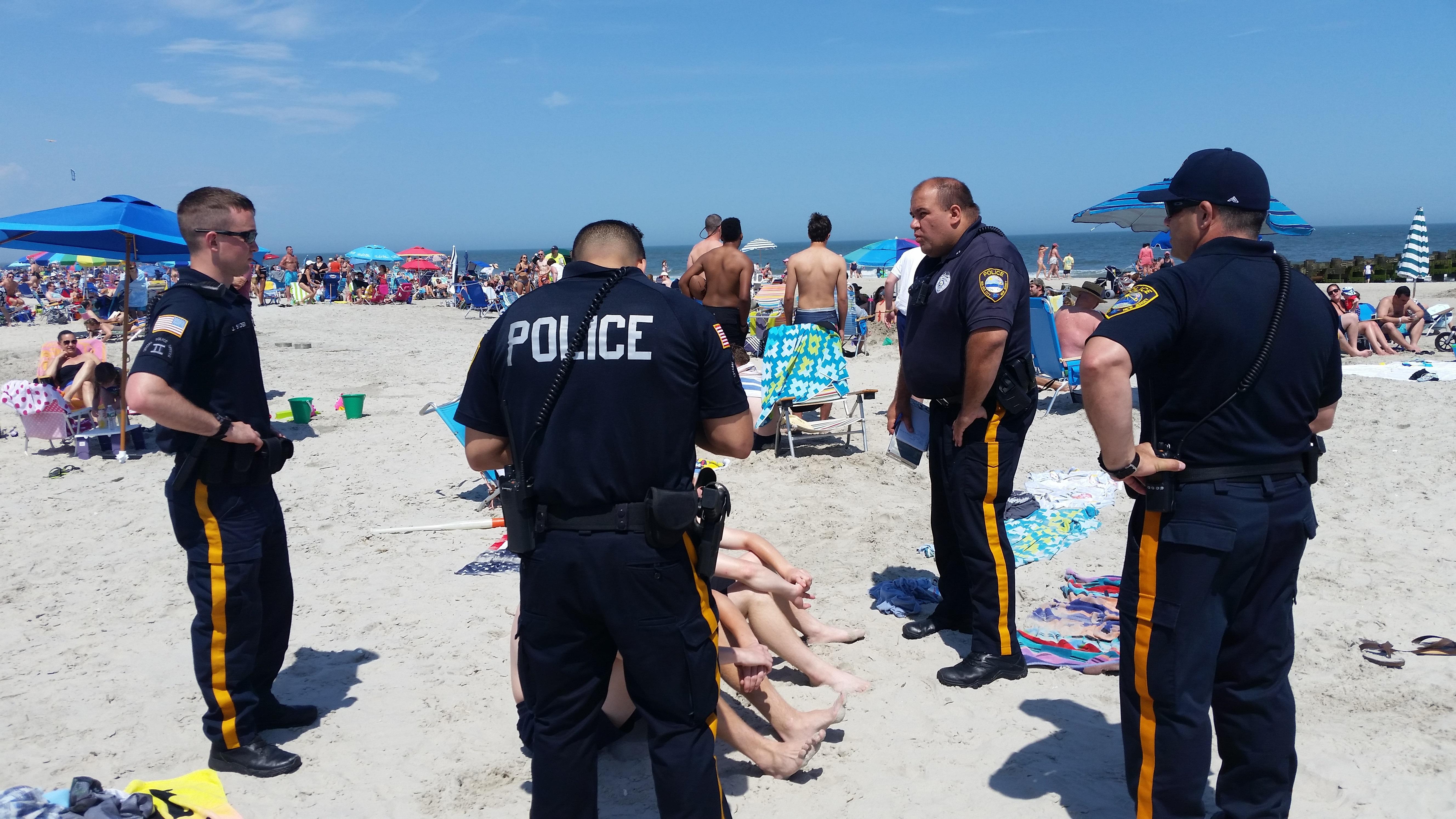 Sea Isle City Police Clamp Down On Beach Drinking Sea